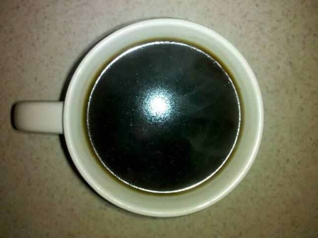 Coffee, the terrorists won