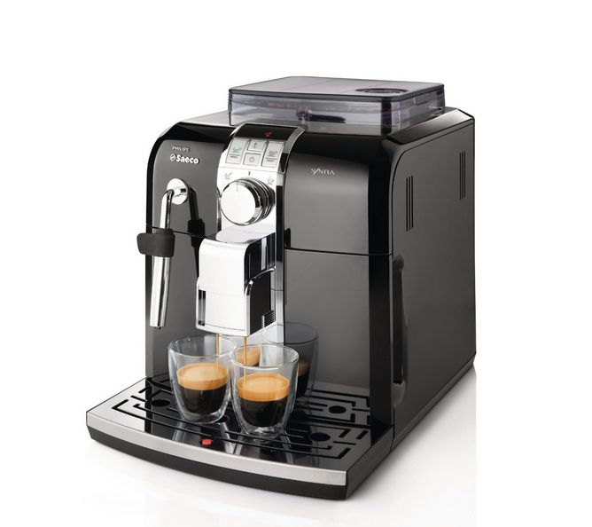 Automatic Espresso, with the Philips Saeco Syntia