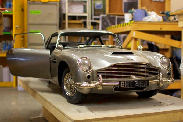 Skyfall Filmmakers 3D-Printed This Rare Aston Martin So They Wouldn't Damage the Original