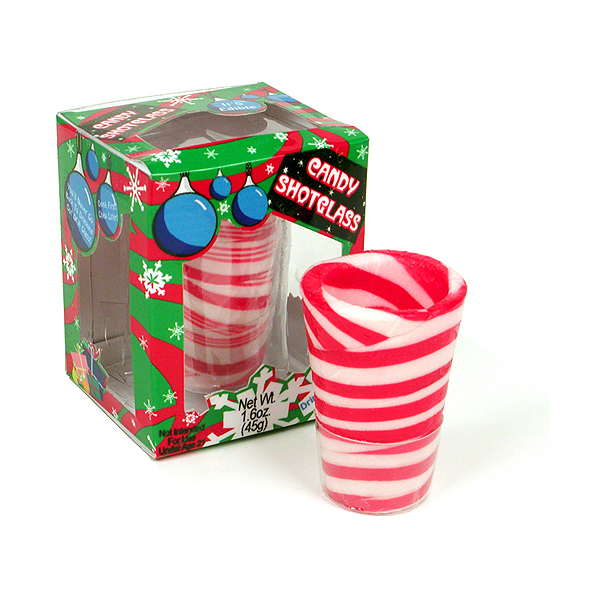 Peppermint Shot Glasses Are Perfect For Christmas   OhGizmo!