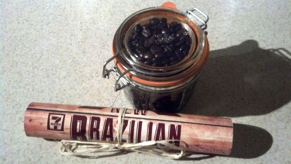 The CaffiNation Reviews: 7 Eleven Brazilian Dark Roast