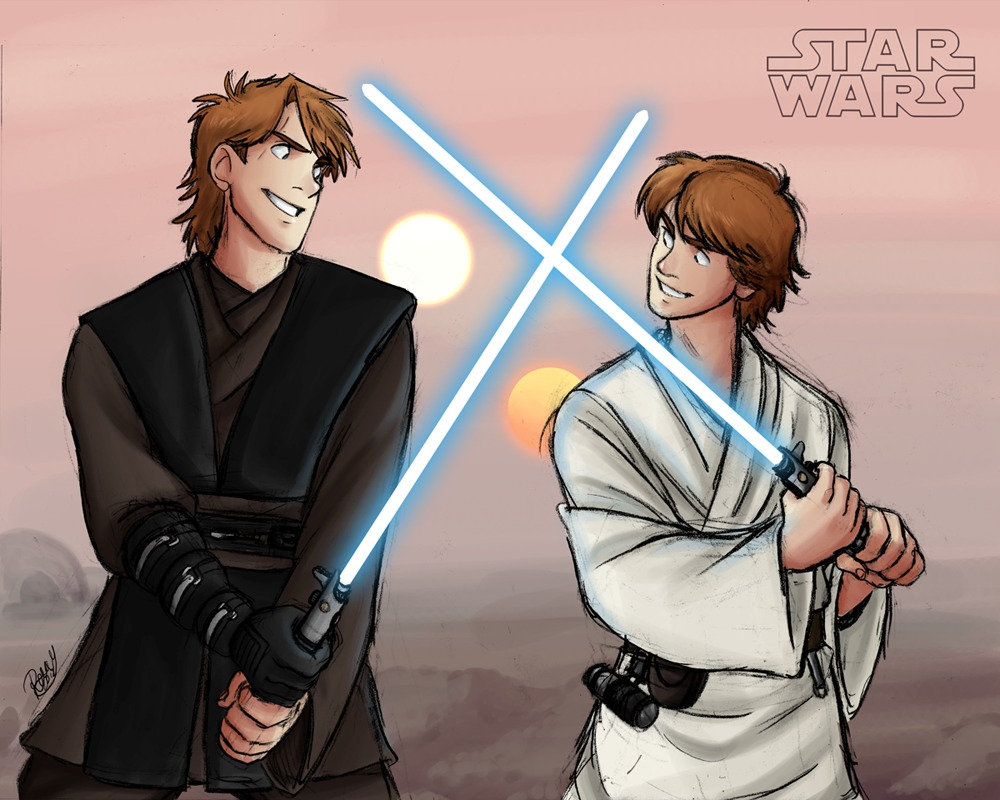 Skywalker Family, After dark?