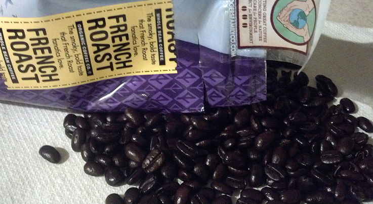 CaffiNation Reviews: Rogers Family Coffee Organic French Roast