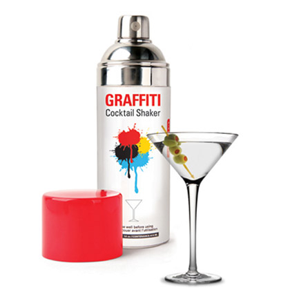 GRAFFITI SPRAY PAINT COCKTAIL SHAKER