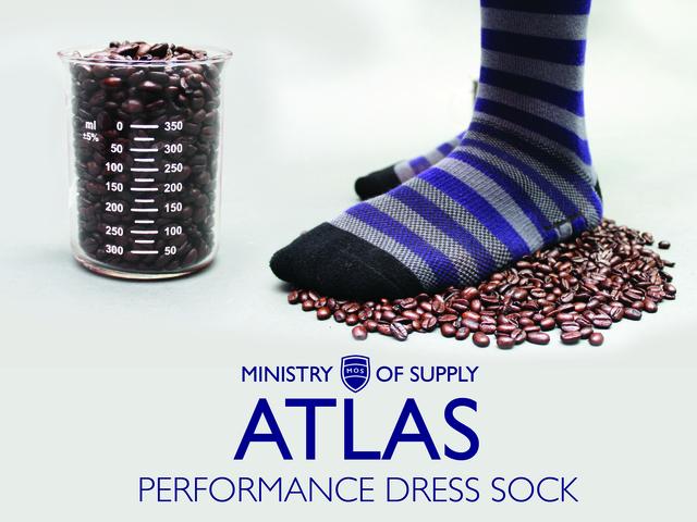 ATLAS: Performance Dress Socks