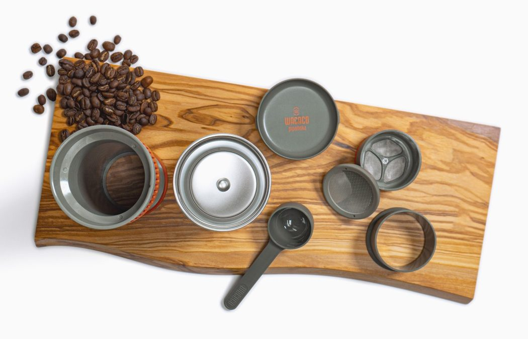 Vacuum Brewing on the go with the Pipamoka