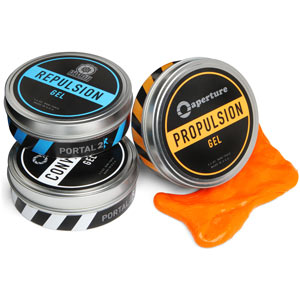 Portal 2 Interactive Gels ⋆ The CaffiNation